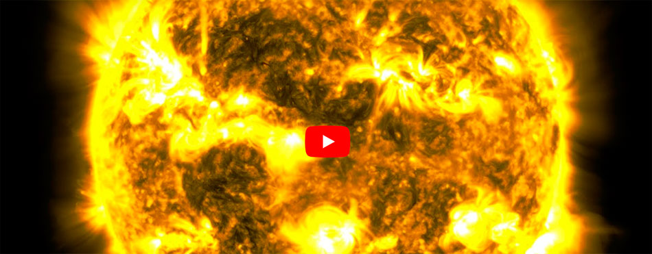 10 Year Time Lapse of Sun SDO